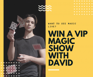 Win a VIP Magic Show With David Norwich Magician