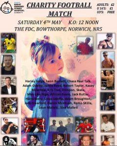 Magic at Charity Football Match Norwich