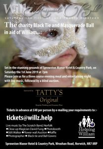 Norwich magic masquerade ball at Sprowston Manor