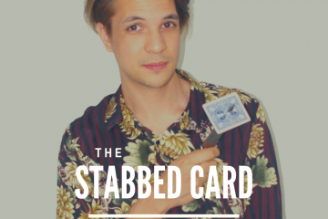 Poster for show David Fung: The Stabbed Card